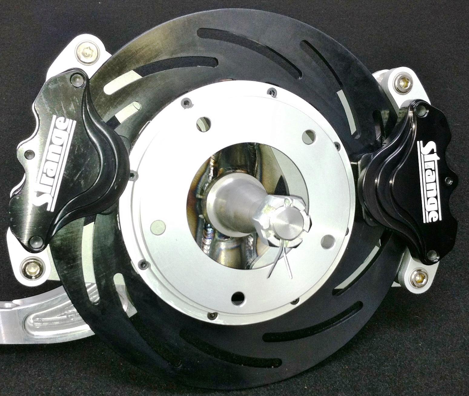 TRZ G-Body Strange Dual Caliper Spindle Mount Brake Kit (Pro Series 2) for  TRZ Spindle / Strange Strut