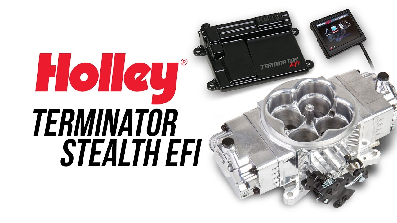 Holley Terminator X Stealth EFI Hartline Performance
